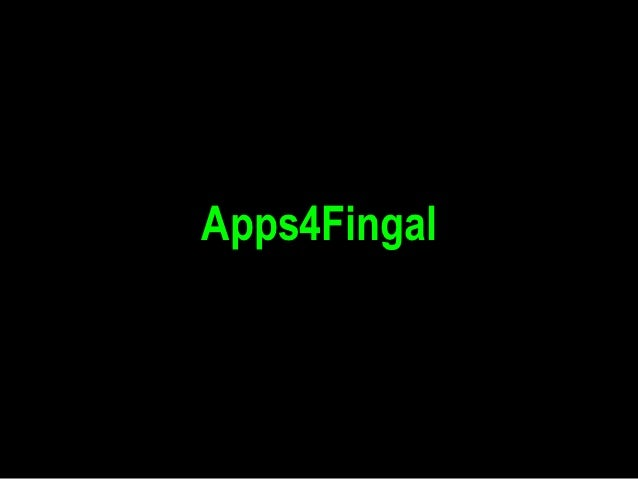 Apps4Fingal