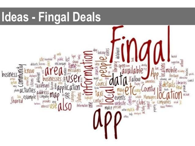 Ideas - Fingal Deals