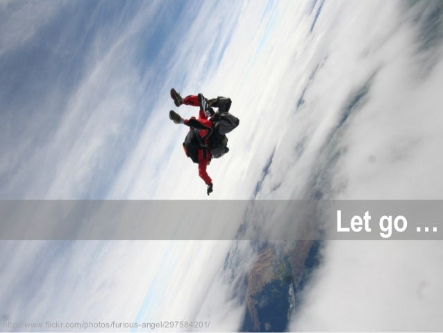 Let go …http://www.flickr.com/photos/furious-angel/297584201/