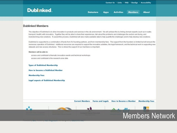 What is Dubl:nked?                 A meeting place that has the objective of                          Removing barriers to...