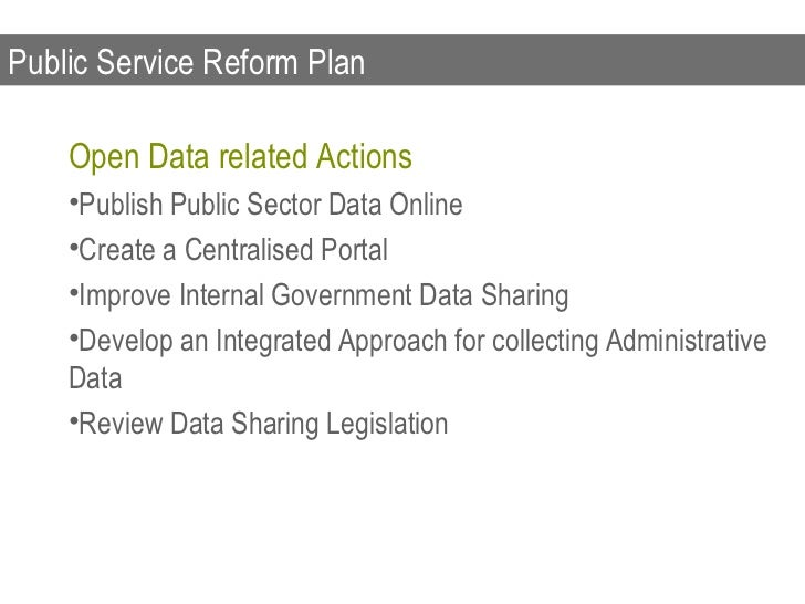 European Commission Open Data Strategy    Open Data Strategy Contents    •communication on Open Data outlining a vision an...