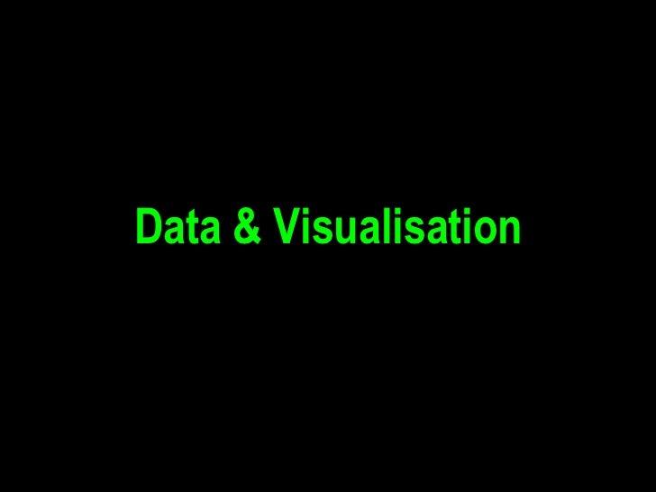 Data & Visualisation