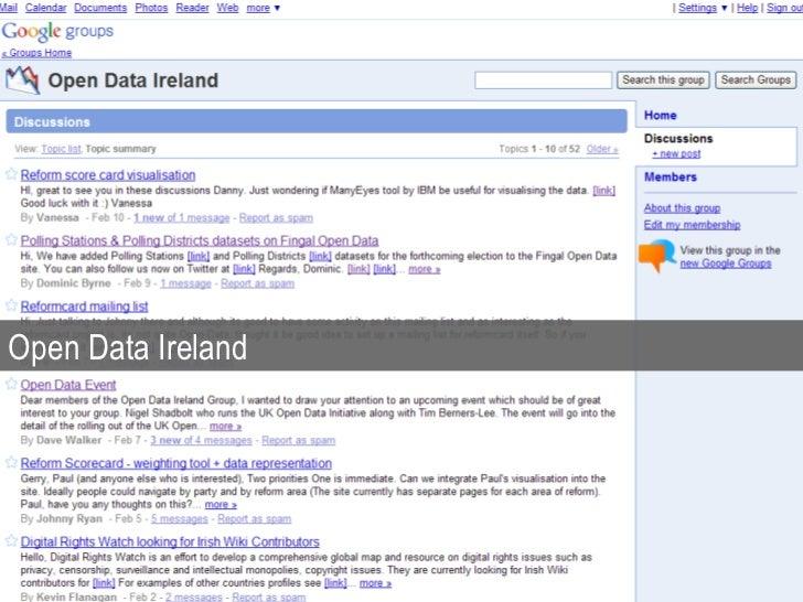 Open Data Ireland