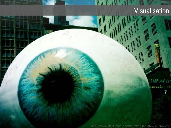 Visualisation http://www.flickr.com/photos/swanksalot/4749564682/