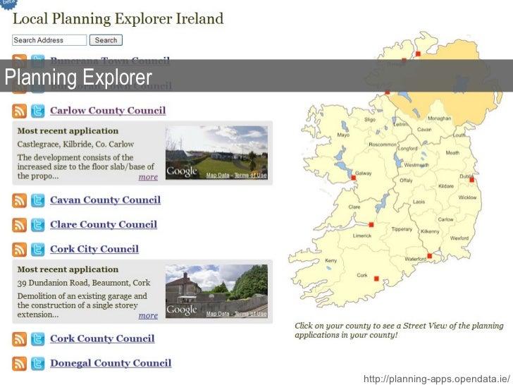 Planning Explorer http://planning-apps.opendata.ie/