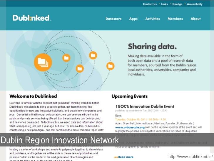 http://www.dublinked.ie/ Dublin Region Innovation Network