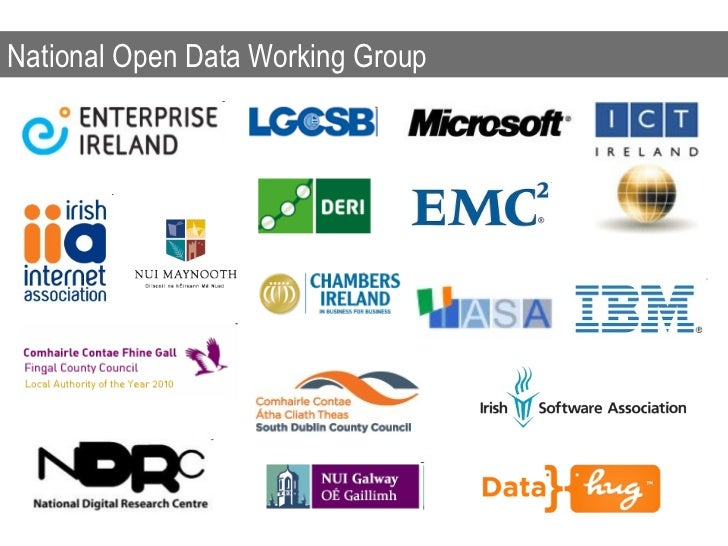 National Open Data Working Group