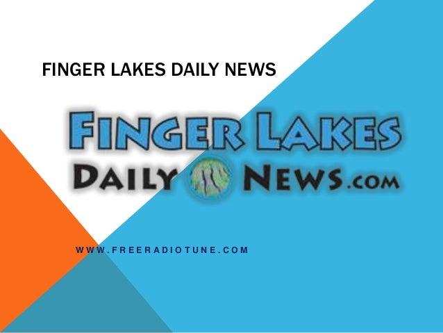 finger lakes daily news w w w f r e e r a d i o t u n e