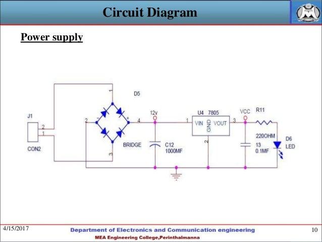 Fingerprint Based Attendance System Circuit Diagram | Fingerprint Based Portable Attendance System