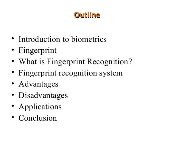 Biometric's final ppt.