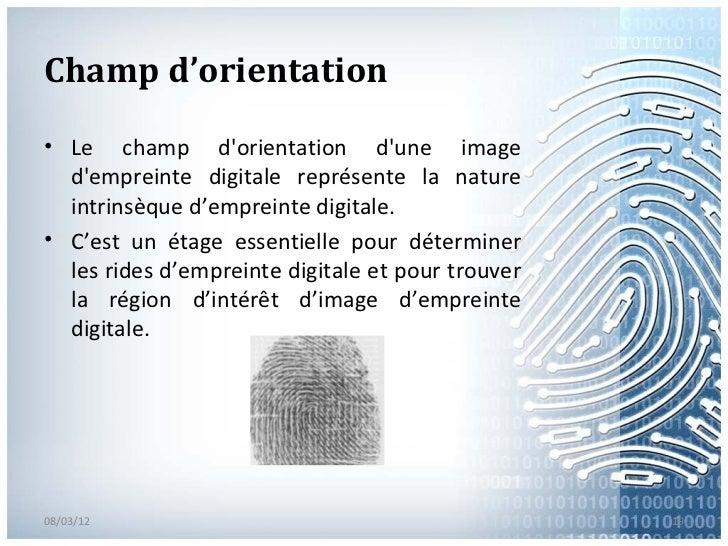 finger prints presentation opencv