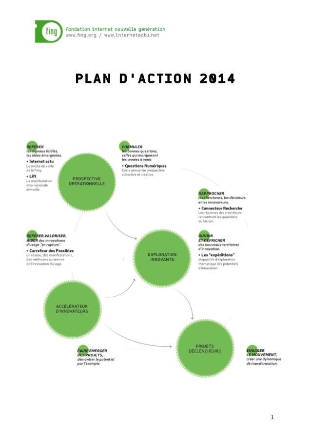 PLAN D'ACTION 2014  1