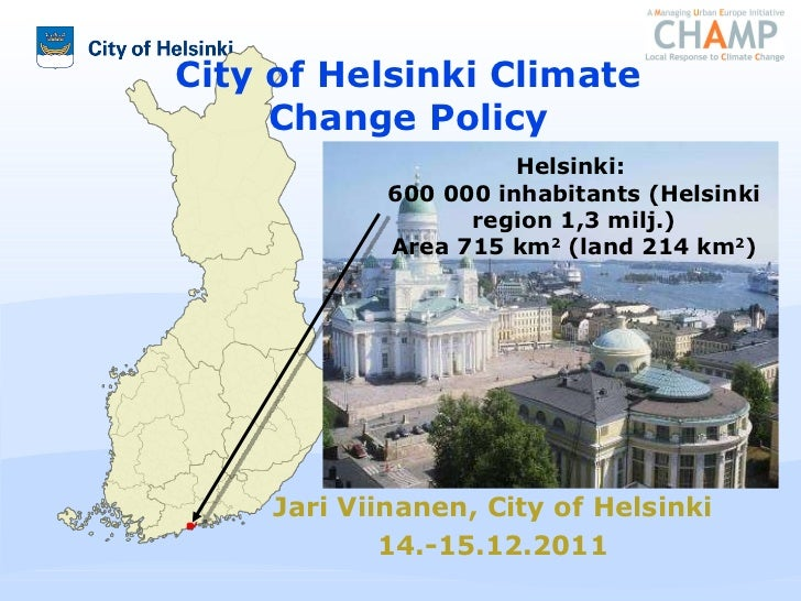 Helsinki: Local climate policy solutions