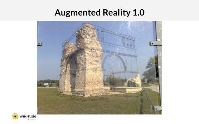 Augmented Reality 1.0