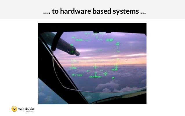 …. to hardware based systems …
