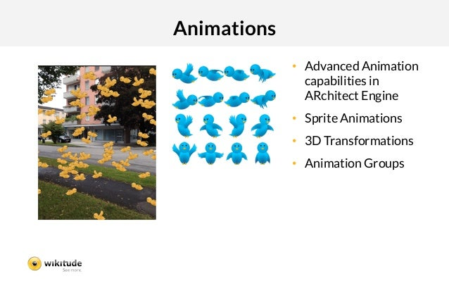 Animations              • Advanced Animation                 capabilities in                 ARchitect Engine            ...