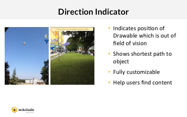 Direction Indicator              • Indicates:posiIon:of:                 Drawable:which:is:out:of:                 field:o...