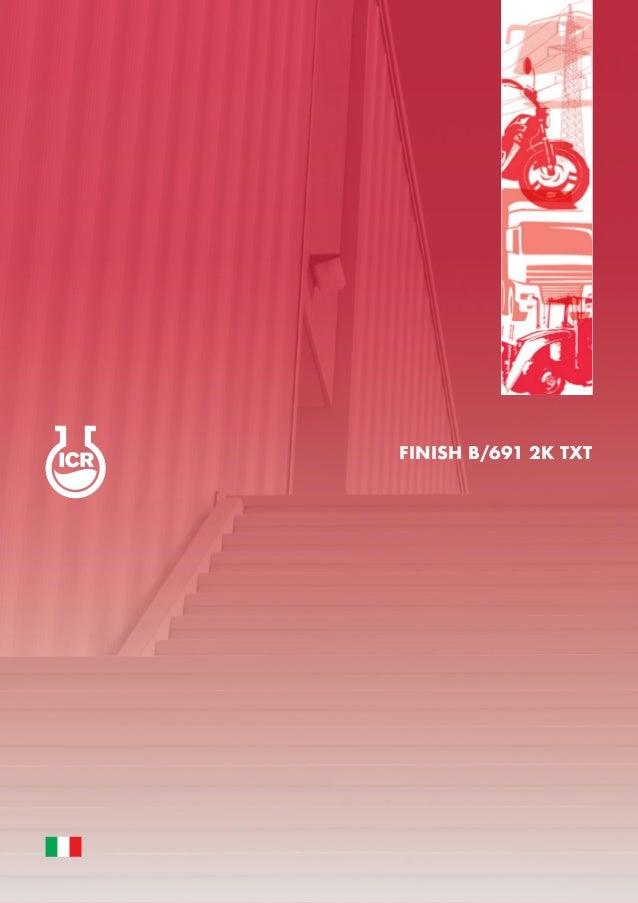 FINISH B/691 2K TXT