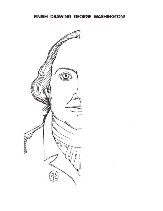 finish drawing washington