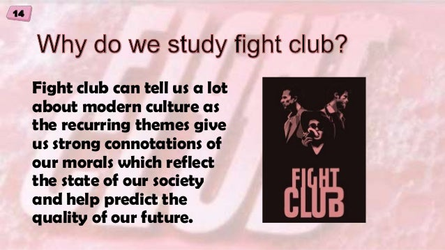 an analysis of the masculinity depicted in the fight club Now, more than carolinecoon while the problem of sexual exploitation is as immense as ever, opportunities to take new ground abound the tendency to make the one female character a ranged.