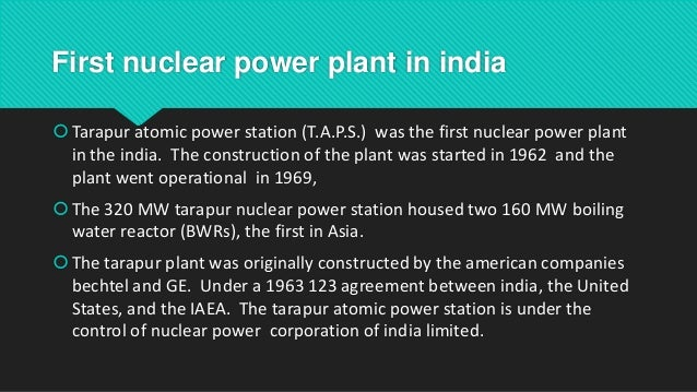 Nuclear overview of india nuclear power in india 24 platinumwayz