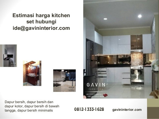 Finishing Hpl Untuk Kitchen Pilihan Warna Menarik