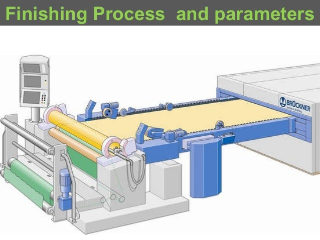 Finishing Process and parameters