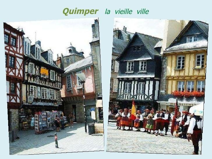 Quimper   la  vieille  ville