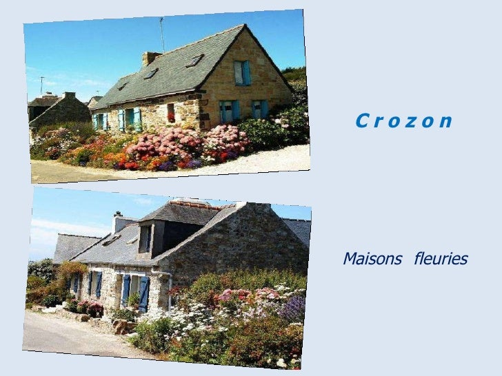 Maisons   fleuries C r o z o n