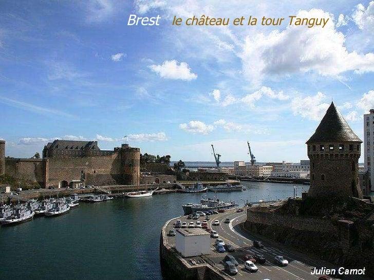 Brest  le   château   et   la   tour   Tanguy