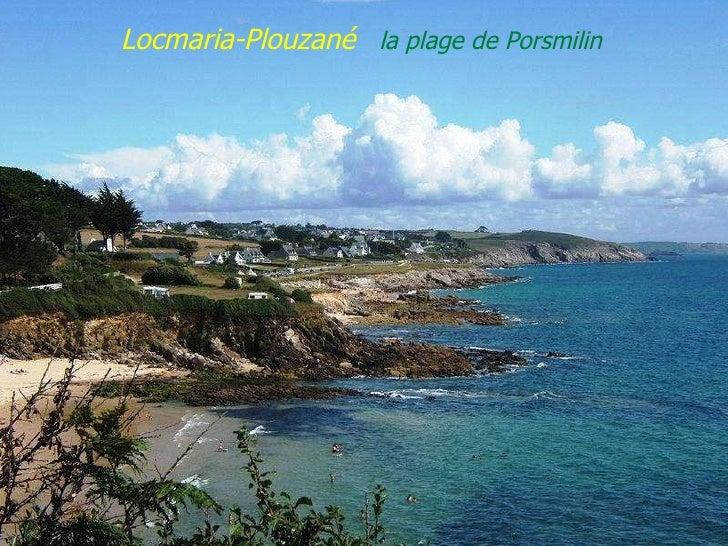 Locmaria-Plouzané  la plage de Porsmilin