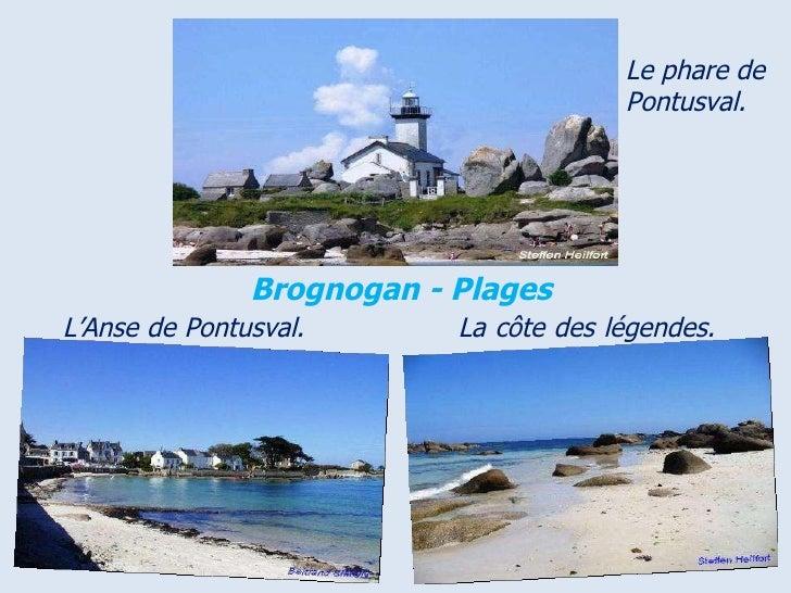 Le phare de Pontusval. Brognogan - Plages  .  L'Anse   de   Pontusval.   La   côte   des   légendes.