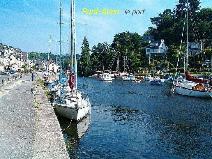 Pont-Aven   le   port