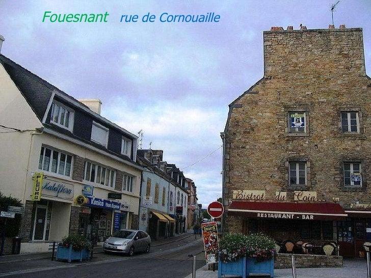 Fouesnant  rue   de   Cornouaille