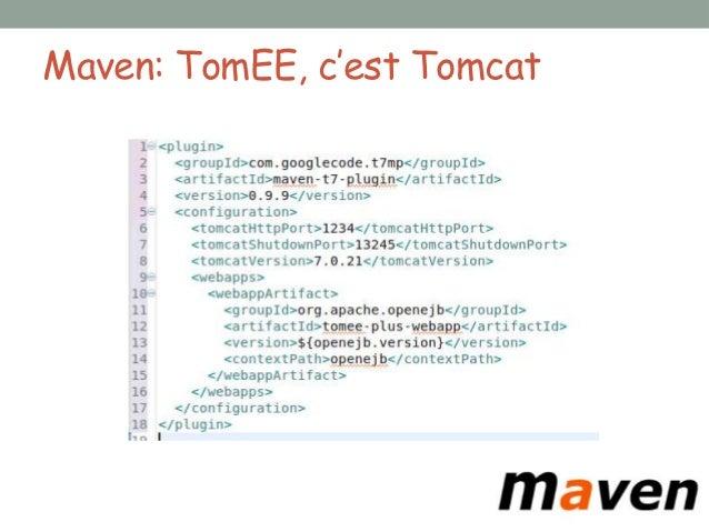 Gestion et monitoring• Déploiement de d'application (tomcat)• Server, conteneurs, stats d'invocations• Queues/topics JMS e...