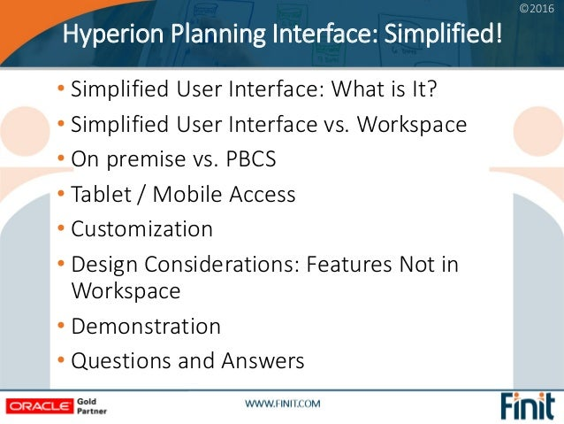 hyperion planning