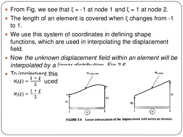 energy finite element method for high Pe281 finite element method course notes summarized by tara laforce stanford, ca 23rd may 2006 1 derivation of the method in order to derive the fundamental concepts of fem we will start by.