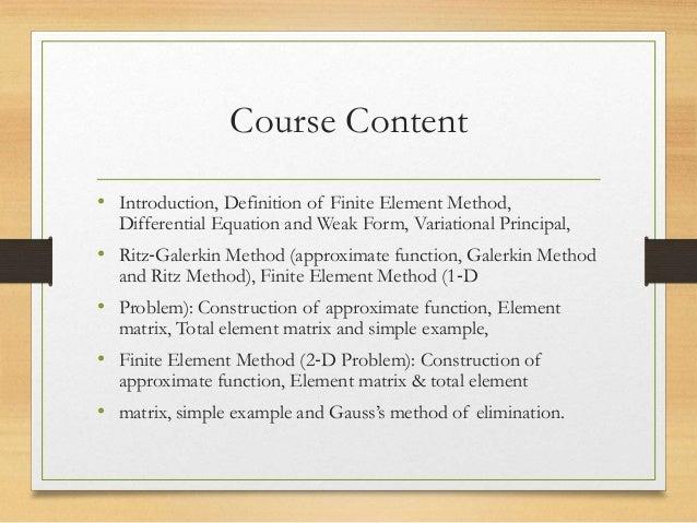 Finite element method (matlab) milan kumar rai