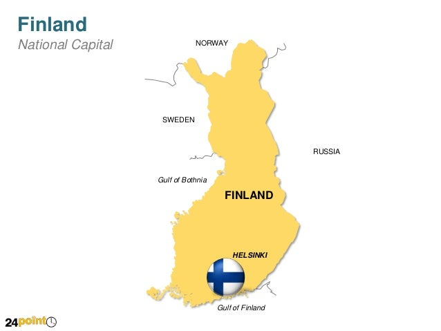 Finland Map Fully Editable PowerPoint