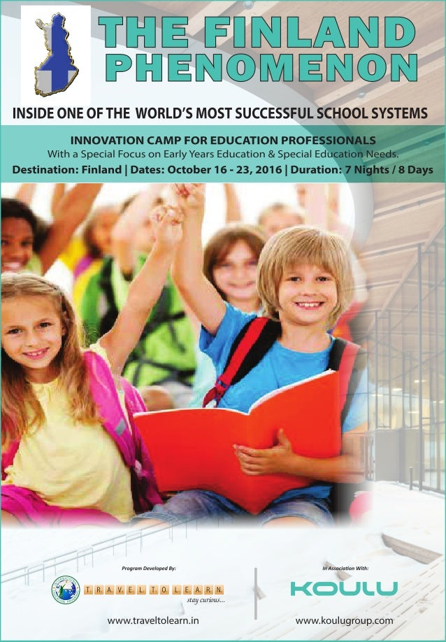 THE FINLAND PHENOMENON - Inside the Worlds Most Successful School Systems