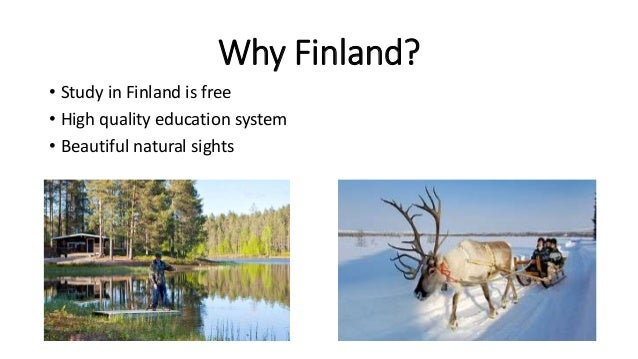 Study in finland free education
