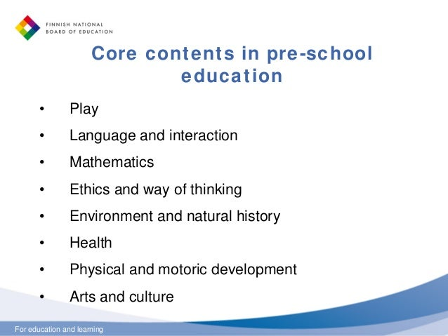 Basic Education Reform In Finland