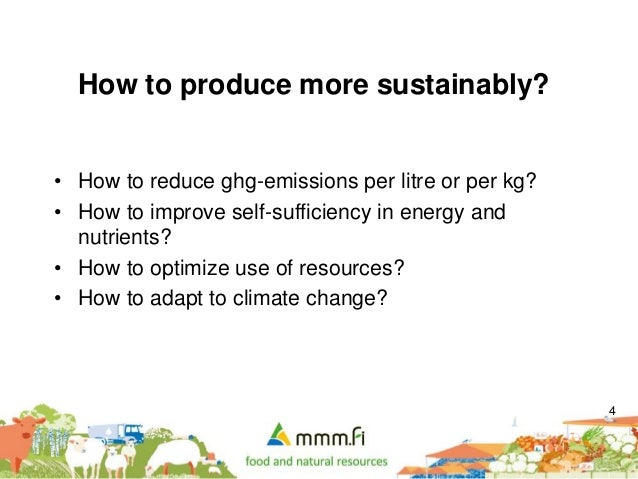 Finnish Perspectives for Climate Friendly Food Production ...