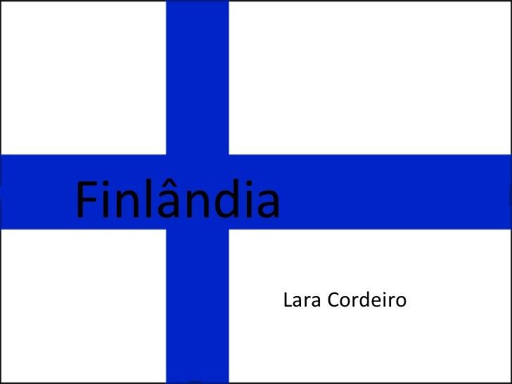 Finlândia Lara Cordeiro