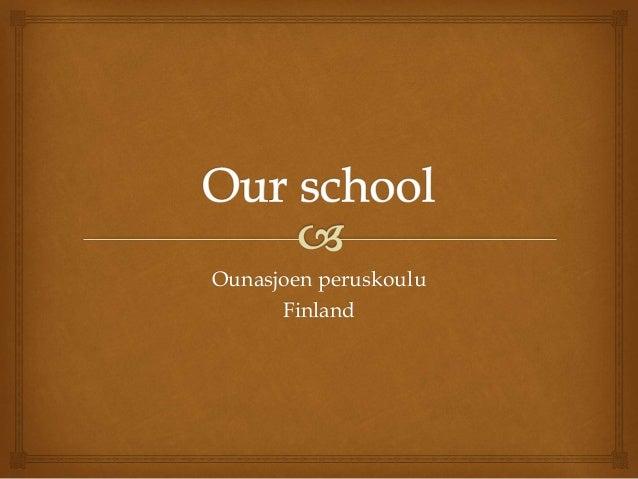 Ounasjoen peruskoulu Finland