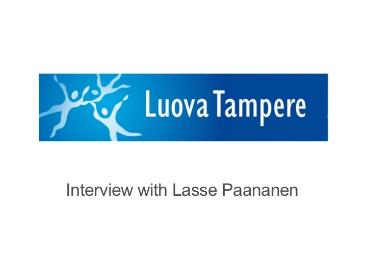 Interview with Lasse Paananen