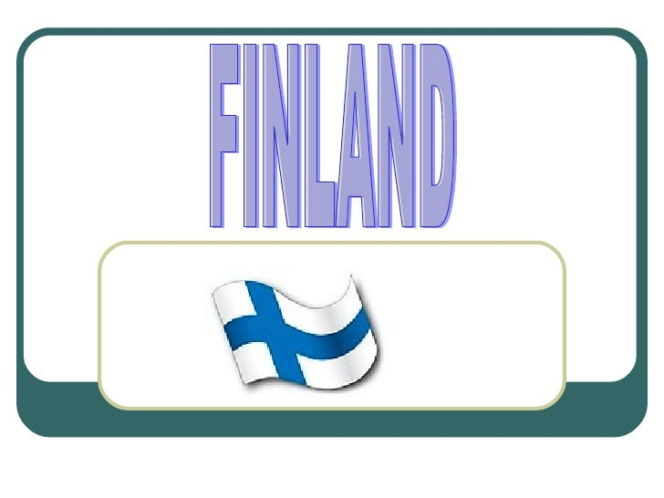 Introduction Finland is a republic. Finland´s capital isHelsinki, which lies in southern Finland. Finlandbecame independen...