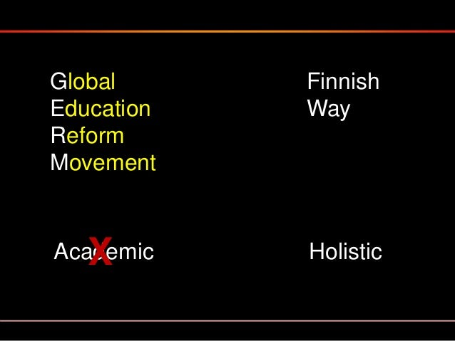 The current, and highly effective Finnish system of education is the result of decades of determined and continuous refine...