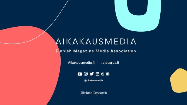 Aikakausmedia.fi │ ratecards.fi @aikakausmedia