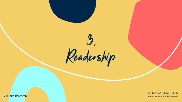 3. Readership